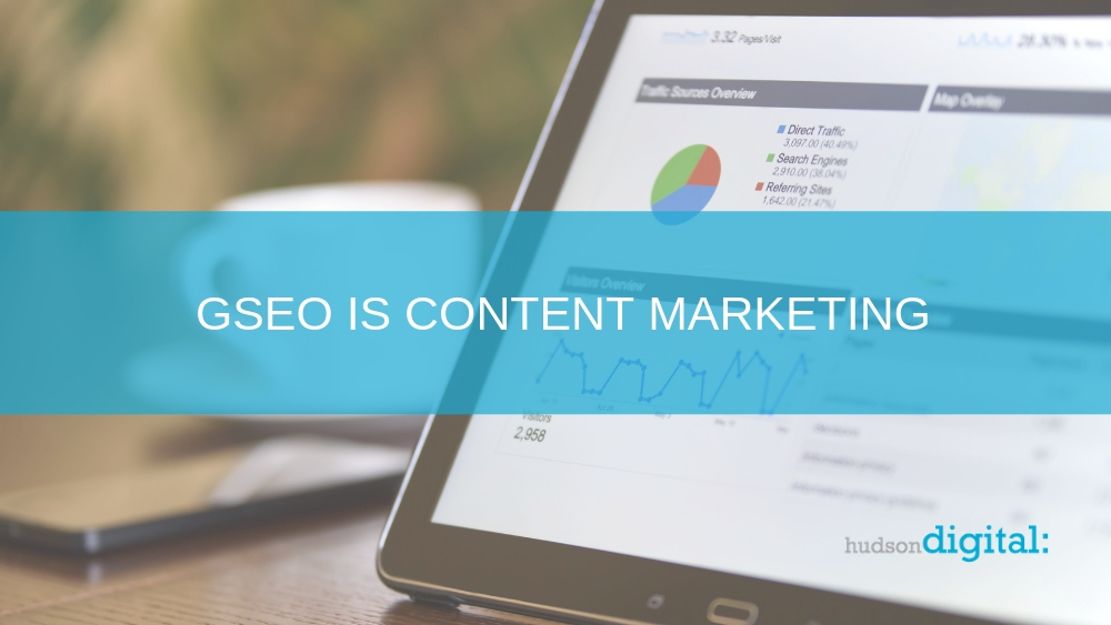 GSEO Is Content Marketing